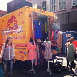 "Fashion truck sighting #3: <a href=""http://www.yelp.com/biz/sugar-kiss-boutique-los-angeles""target=_blank"">Sugar Kiss</a>."