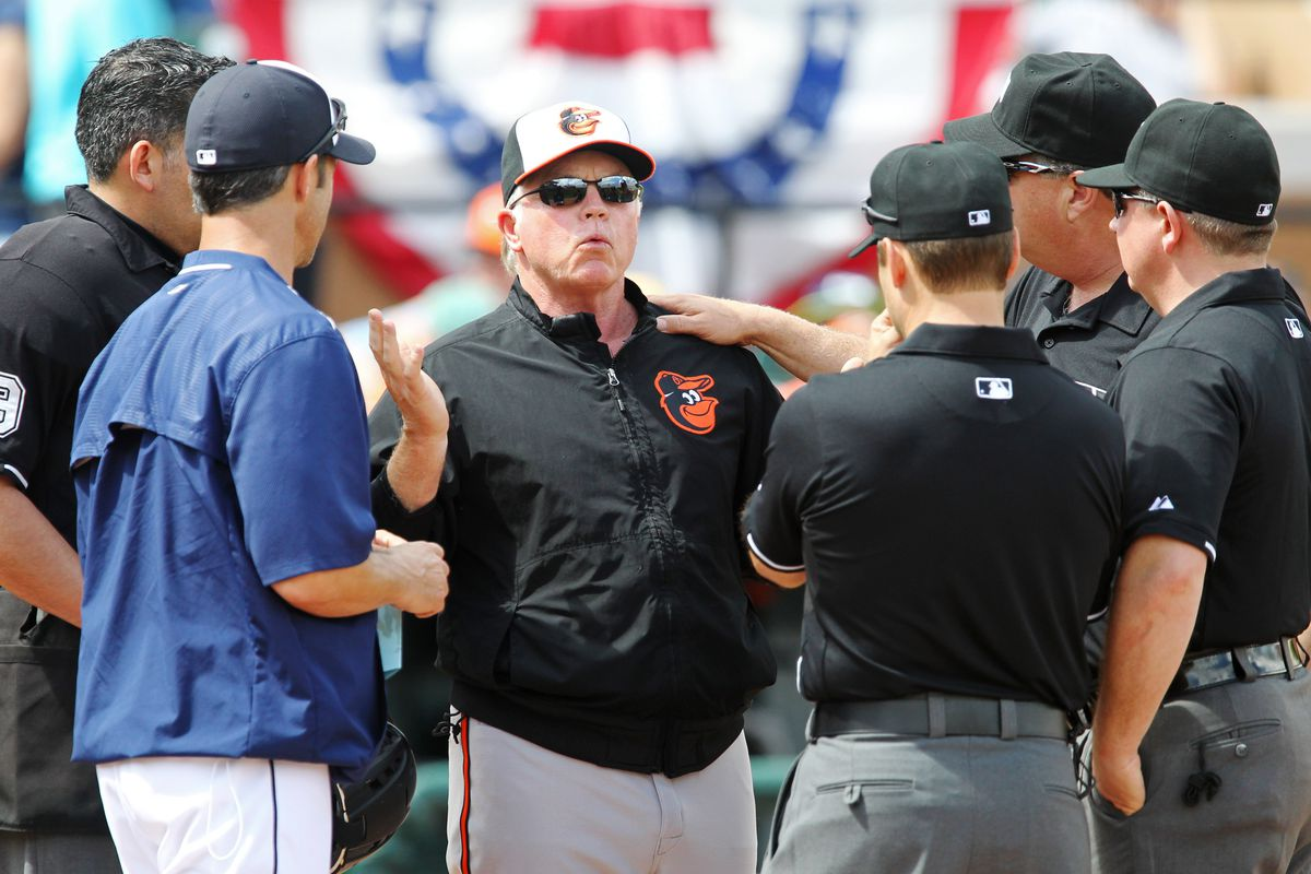 An exasperated Buck solicits advice as to what to do with Ubaldo