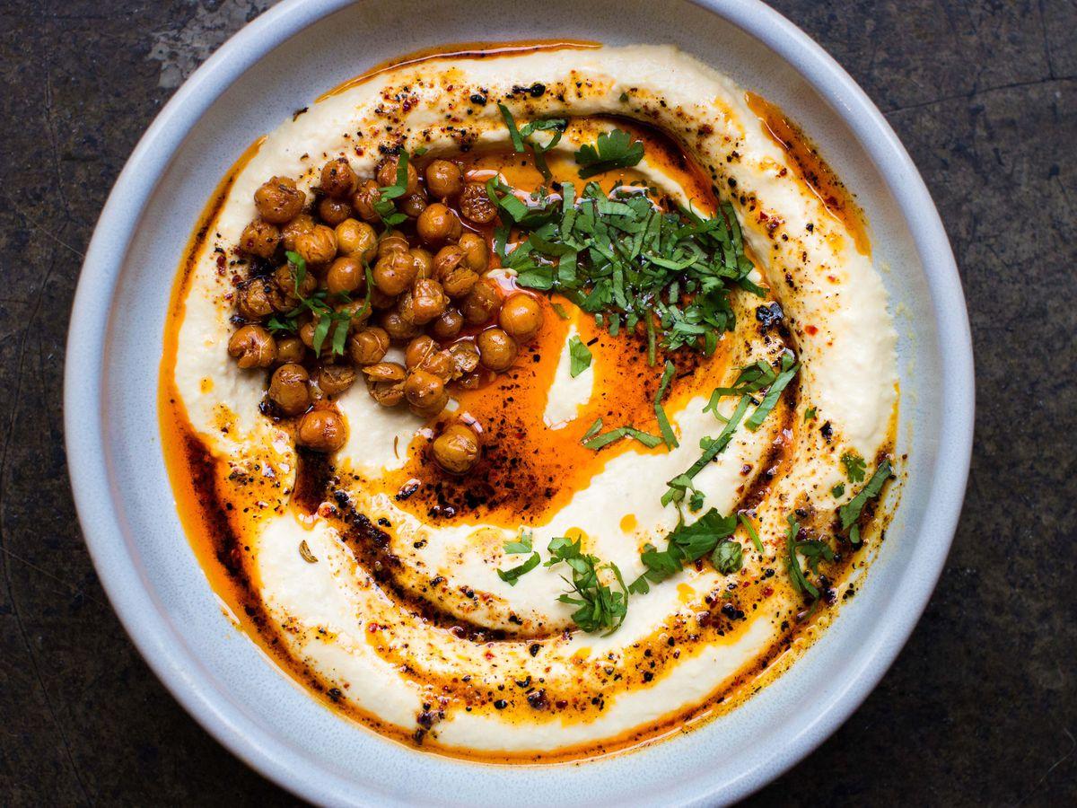 Hummus at Bubala in Shoreditch