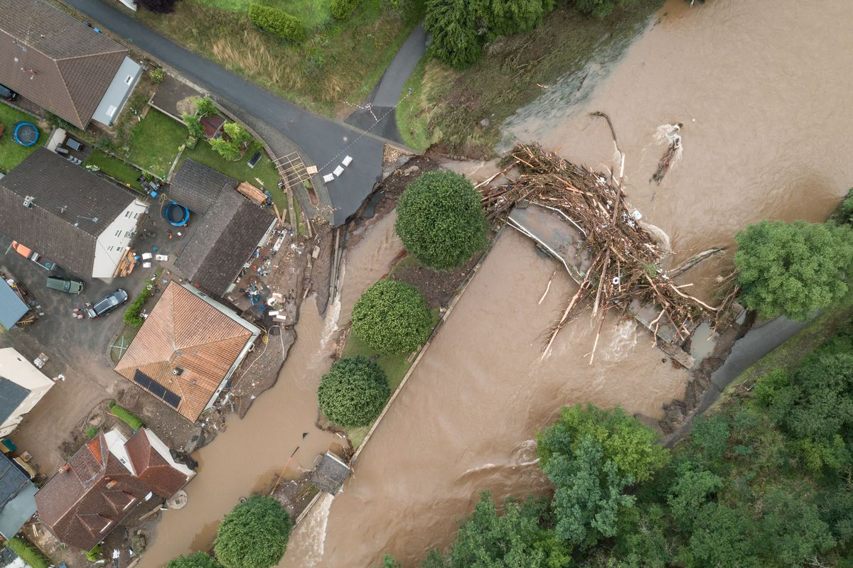 GERMANY-WEATHER-FLOODS-STORMS