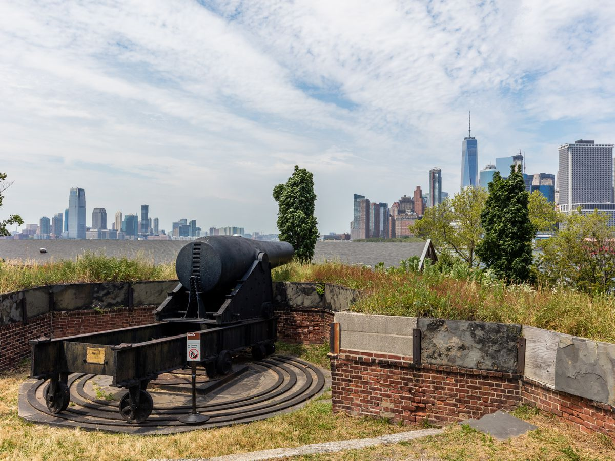 Fort Jay on Governors Island