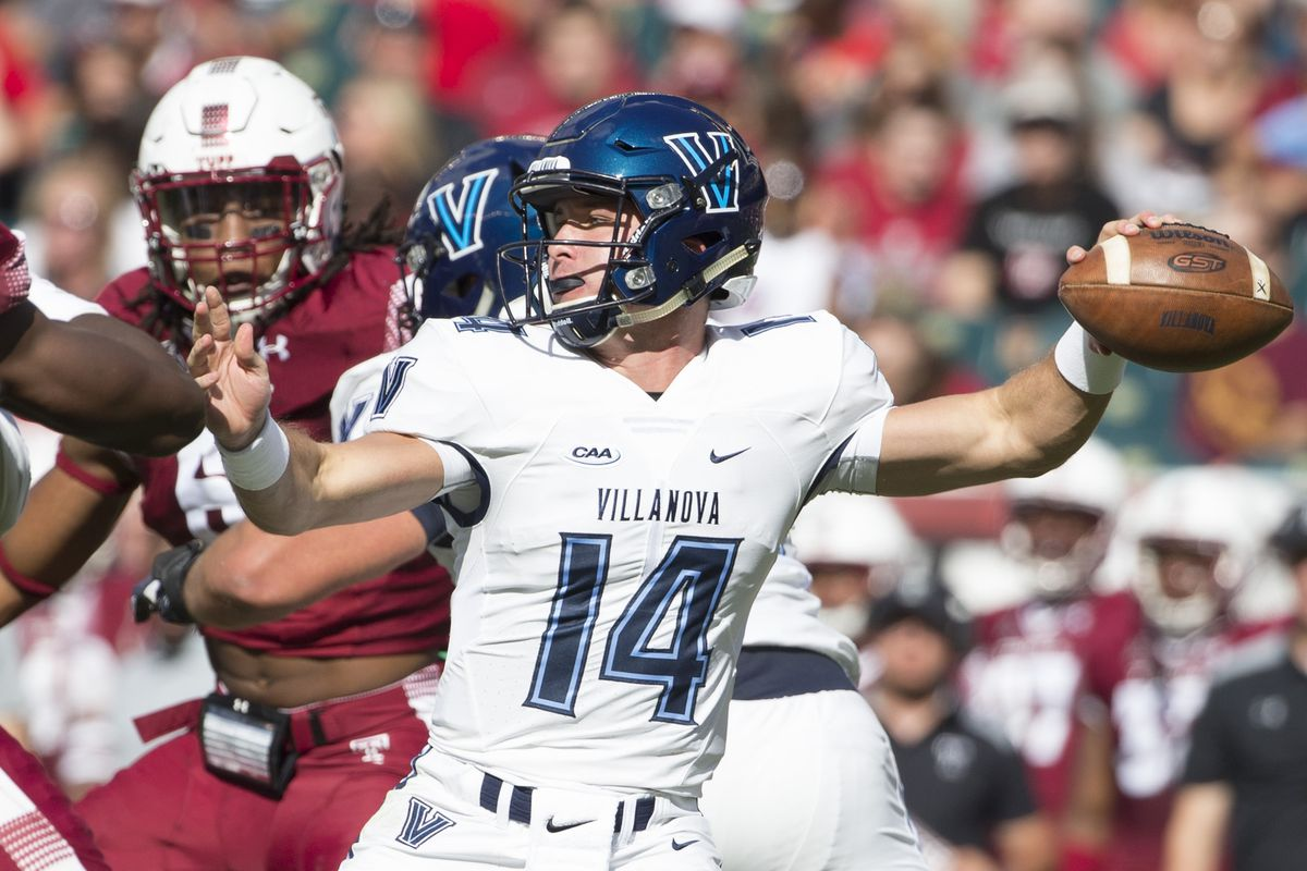 yeah, villanova plays football, and it's pretty good at that, too