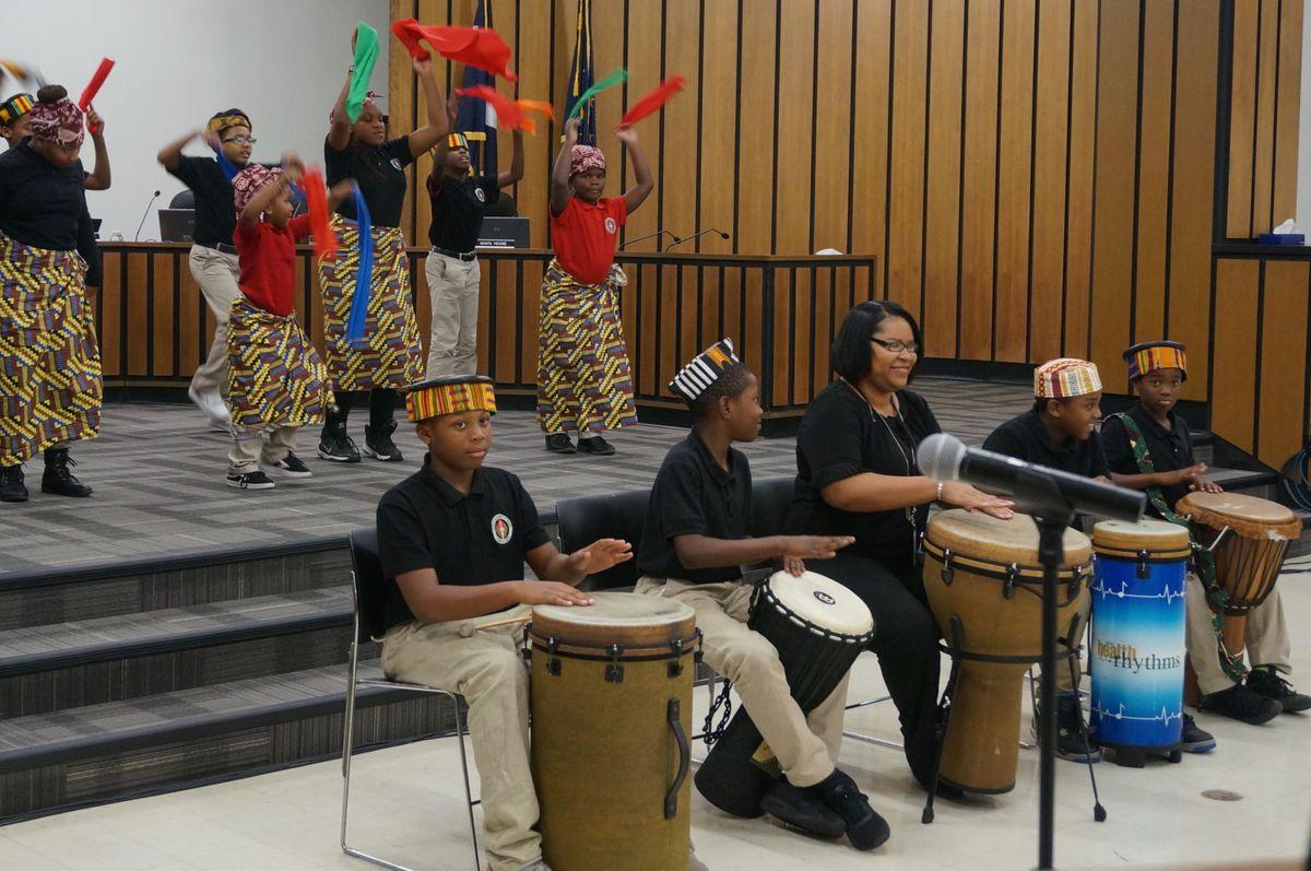 Ignite is infusing Afrocentrism, including African dance and music.