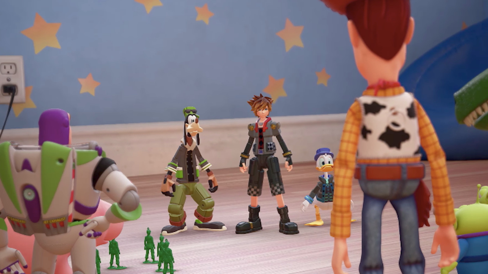 Kingdom Hearts 3 gives you a much bigger team to fight with