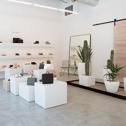 The boutique offers both brand's latest spring/summer collections.