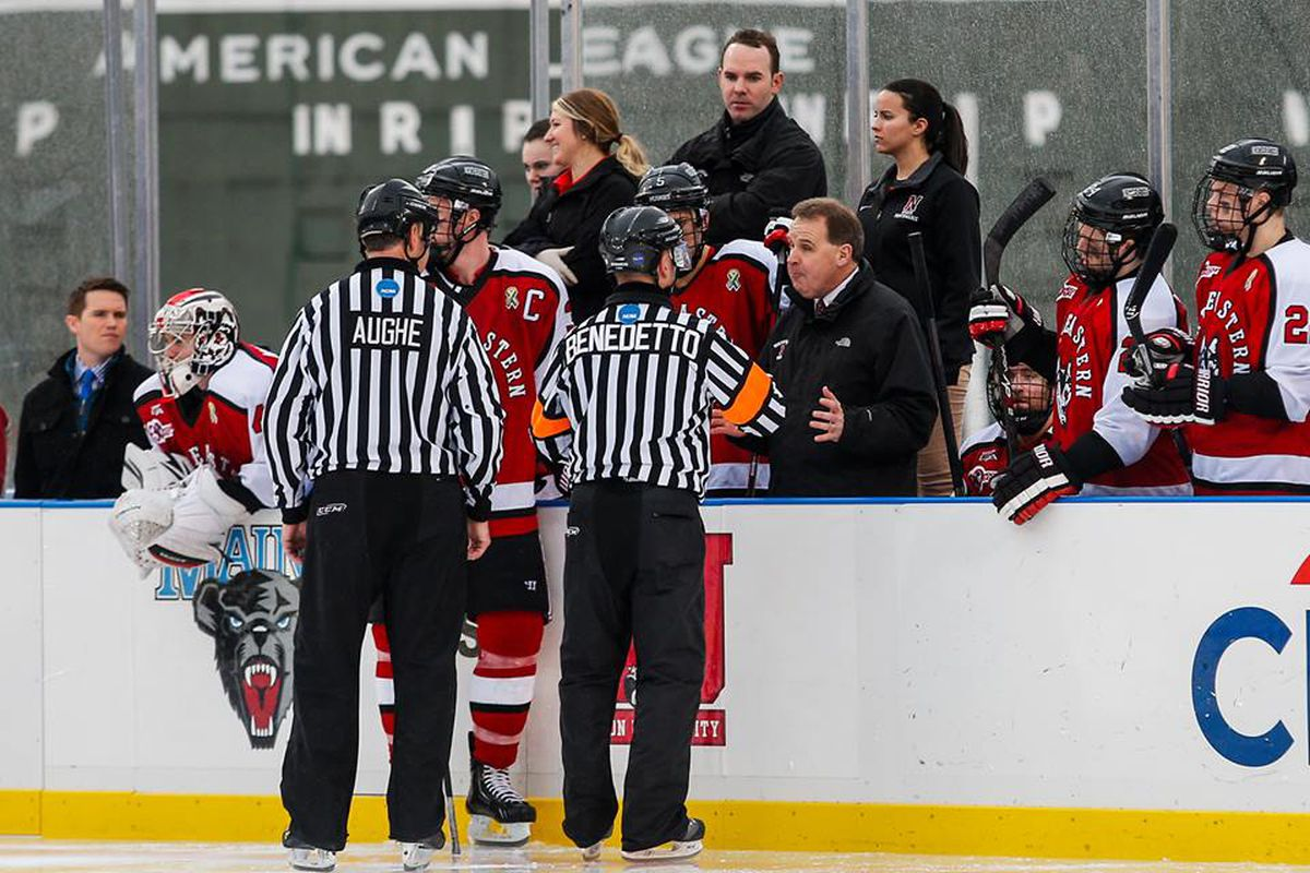 Northeastern head coach Jim Madigan received a verbal commitment from Cayden Primeau.