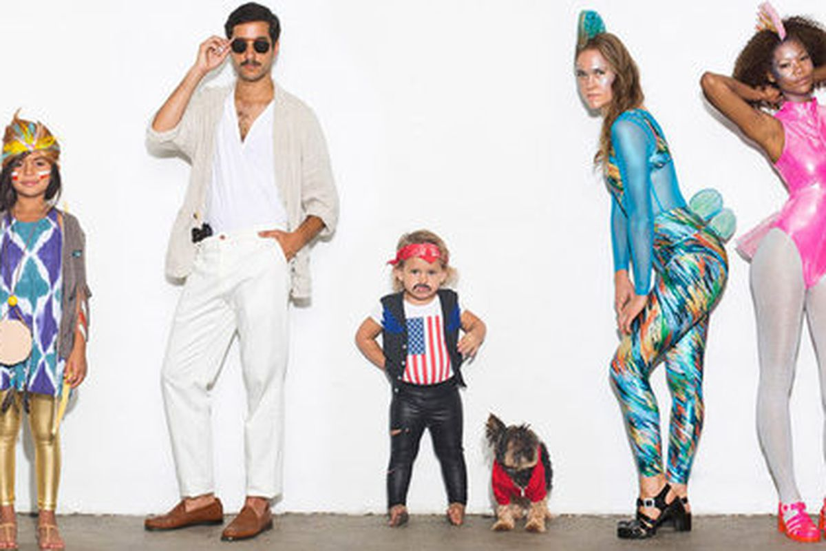 """Image courtesy American Apparel and via <a href=""""http://la.racked.com/archives/2013/10/08/american_apparels_halloween_involves_frida_fancy_fish_more.php"""">Racked LA</a>."""