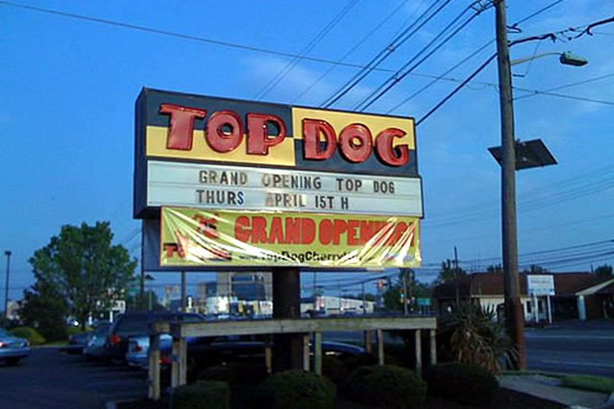 Four people were stabbed at Top Dog.