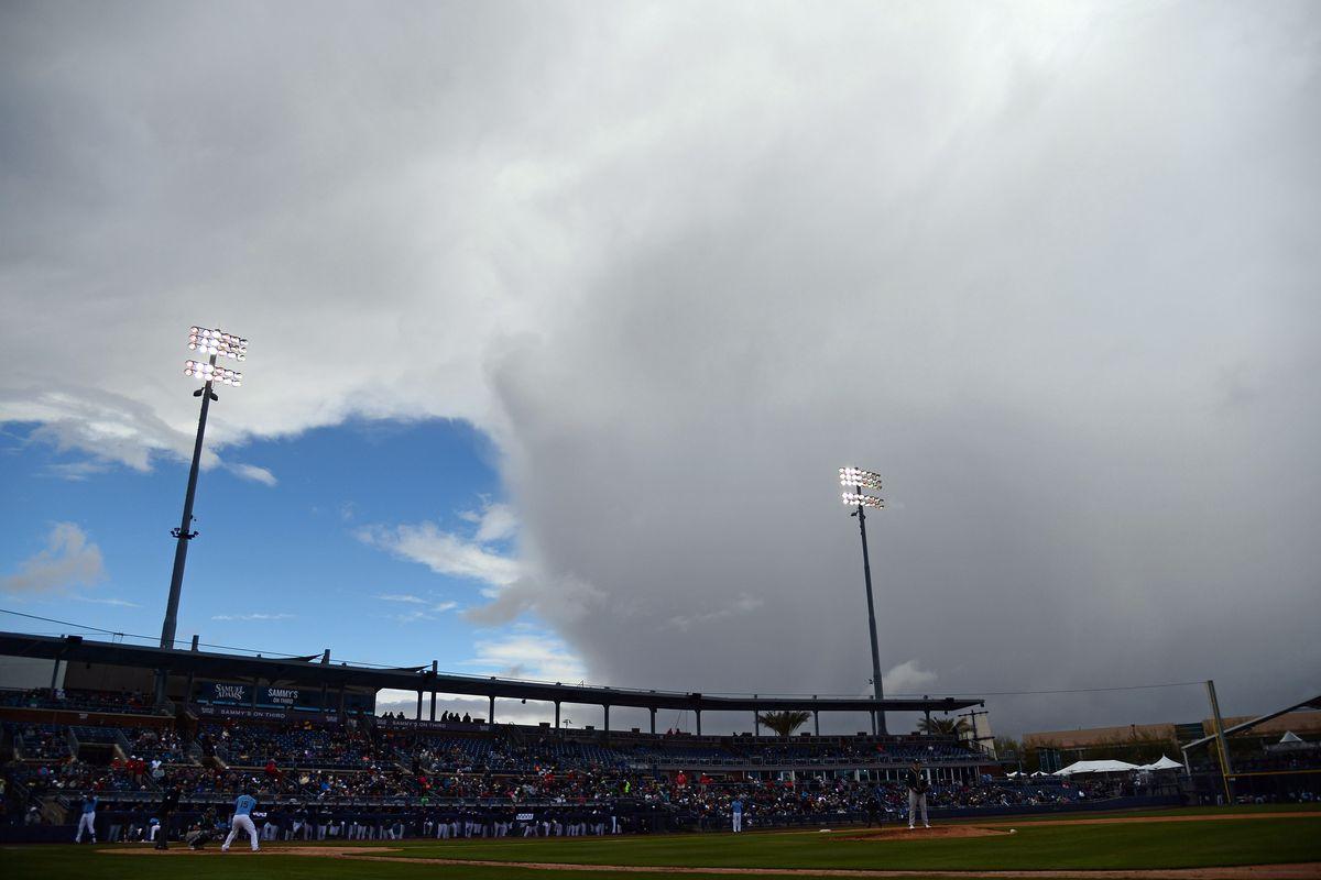 MLB: Spring Training-Oakland Athletics at Seattle Mariners