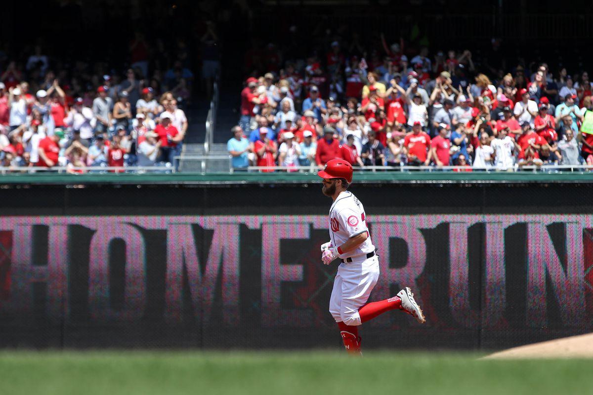 MLB: Game 1-Philadelphia Phillies at Washington Nationals