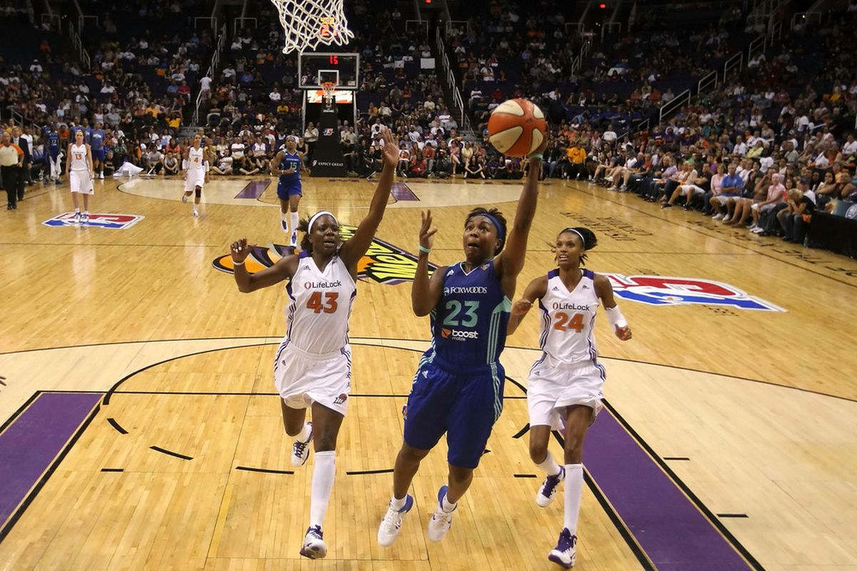 The New York Liberty were exceptional at creating turnovers and scoring in transition in 2011, but other than that they were decidedly average statistically. <em>Photo by Christian Petersen/Getty Images.</em>