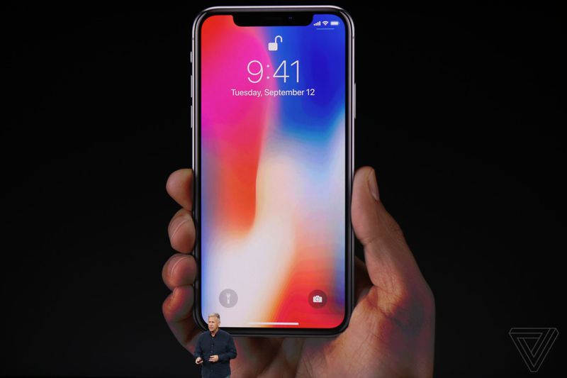 The IPhone X Has Glass On Both Front And Back It Surgical Grade Stainless Steel Around Sides Is Water Resistant Comes In Two