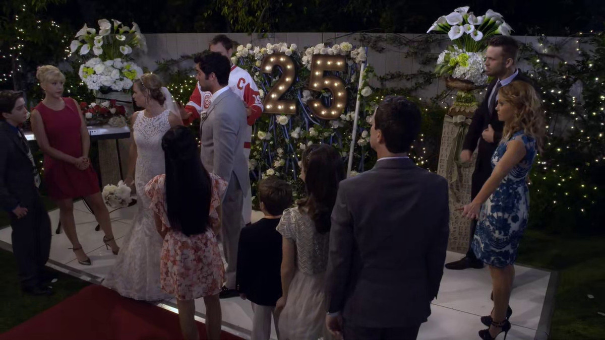 Kimmy tries to escape on Fuller House.
