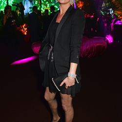 Kate Moss at the Chopard Wild party.