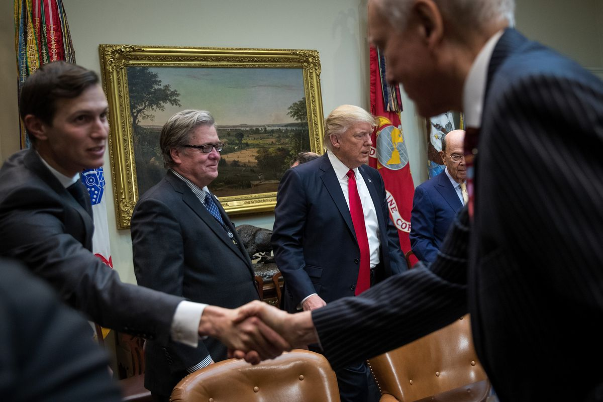 Trump Meets With Congressional Lawmakers At The White House