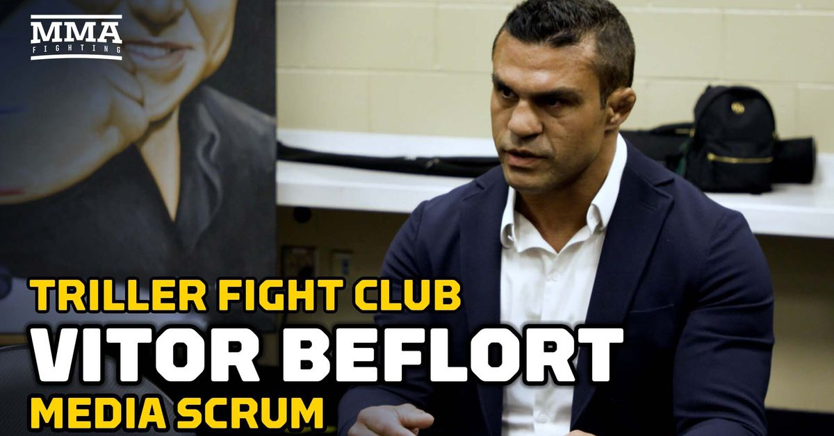 Vitor Belfort on why Oscar De La Hoya Triller fight will thrill: 'You have two guys with big huevos'