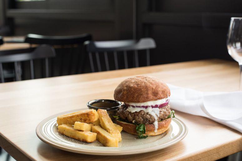 Le Vieux's Lamb Burger