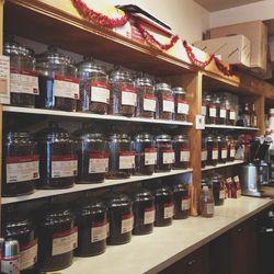 It's a coffee lover's heaven at <b>Oren's Daily Roast</b> in my neighborhood—so many options!