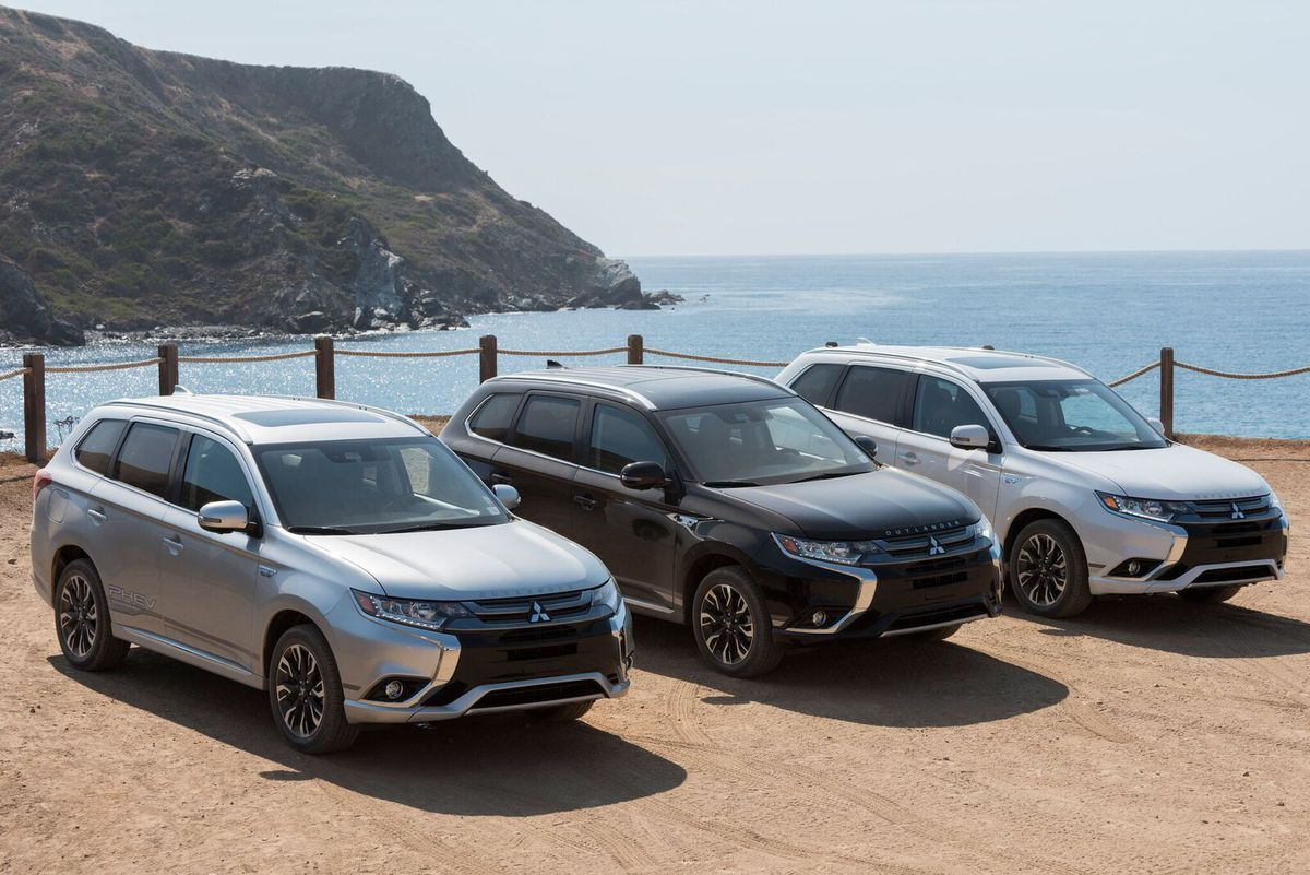 2018 Mitsubishi Outlander Phev First Drive Winner By