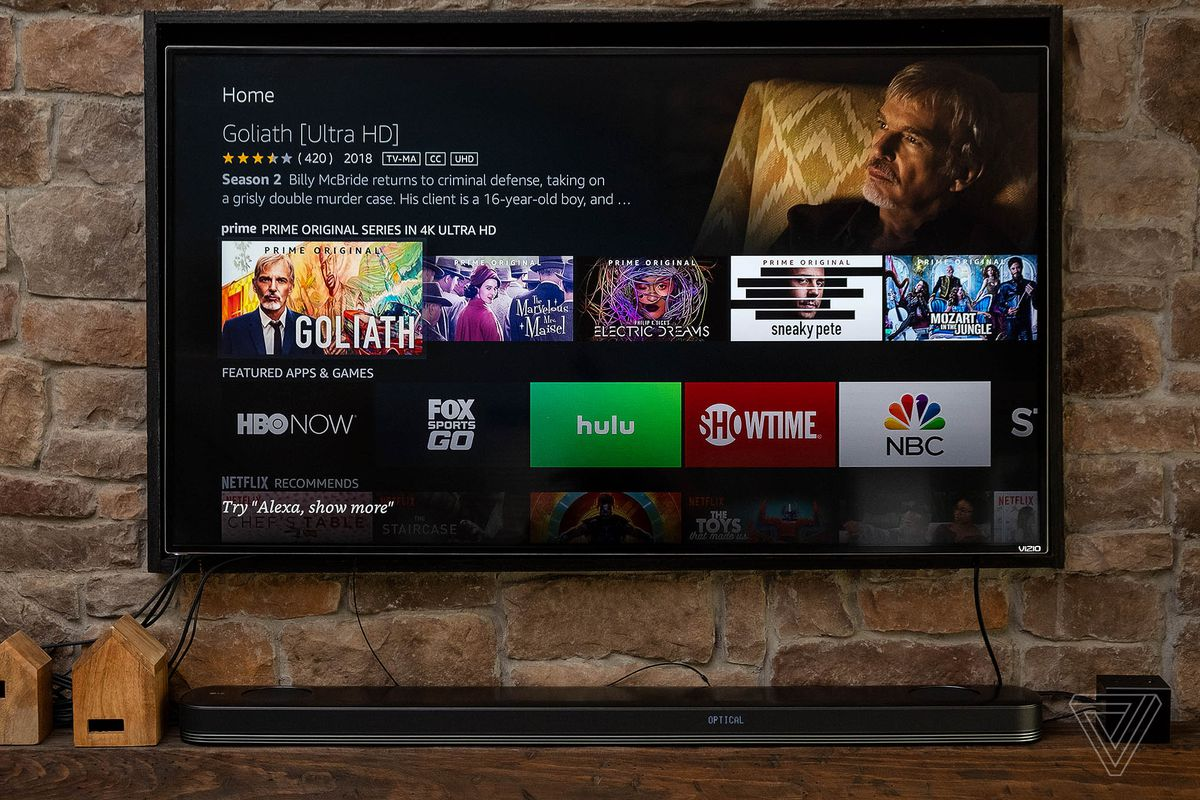 AMAZON FIRE TV CUBE テレビ