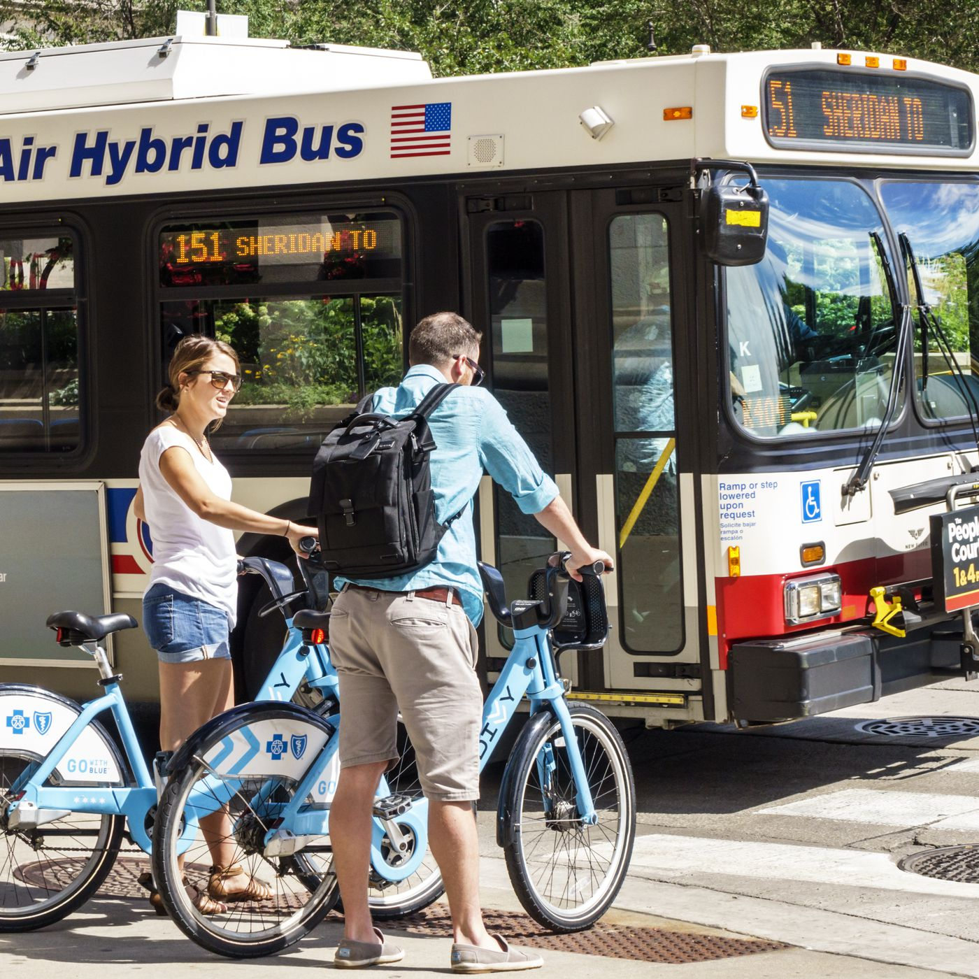 New map tool combines Divvy, public transit for best route - Curbed  Bus Route Map Chicago on