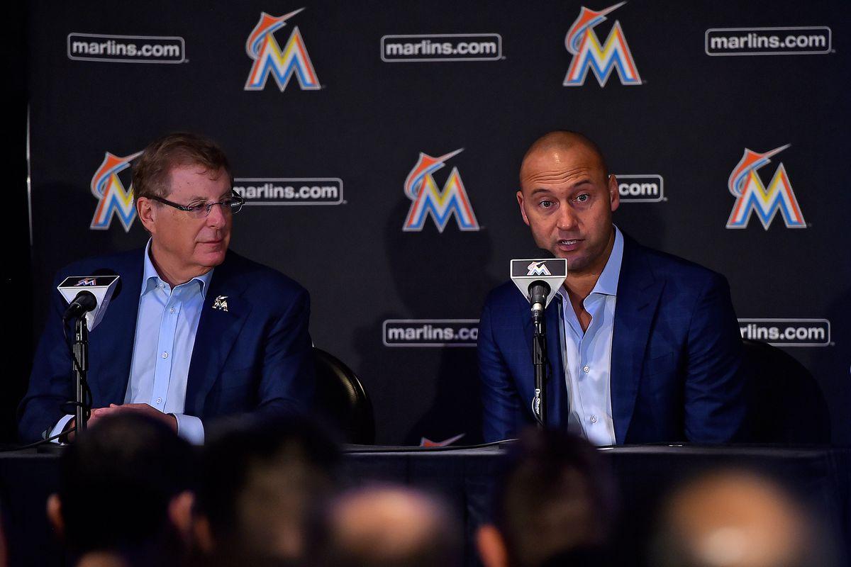 MLB: Miami Marlins-Press Conference