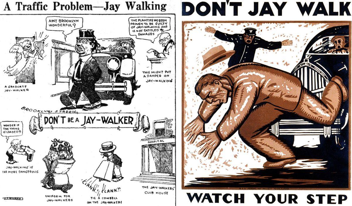 jaywalking posters