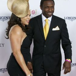 Former NBA player and coach Avery Johnson, honestly, looked damn good.