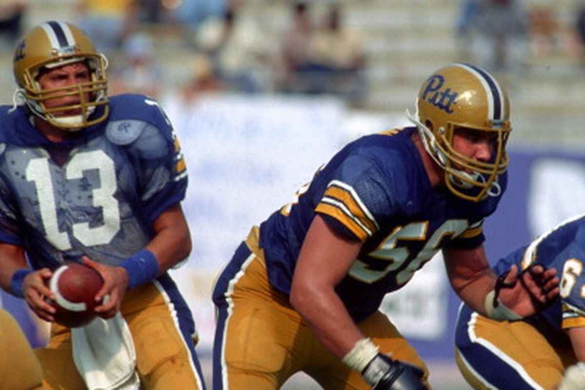 a9e9ed5e4 56 Days Until Pitt Football  Chris Doleman and Russ Grimm - Cardiac Hill