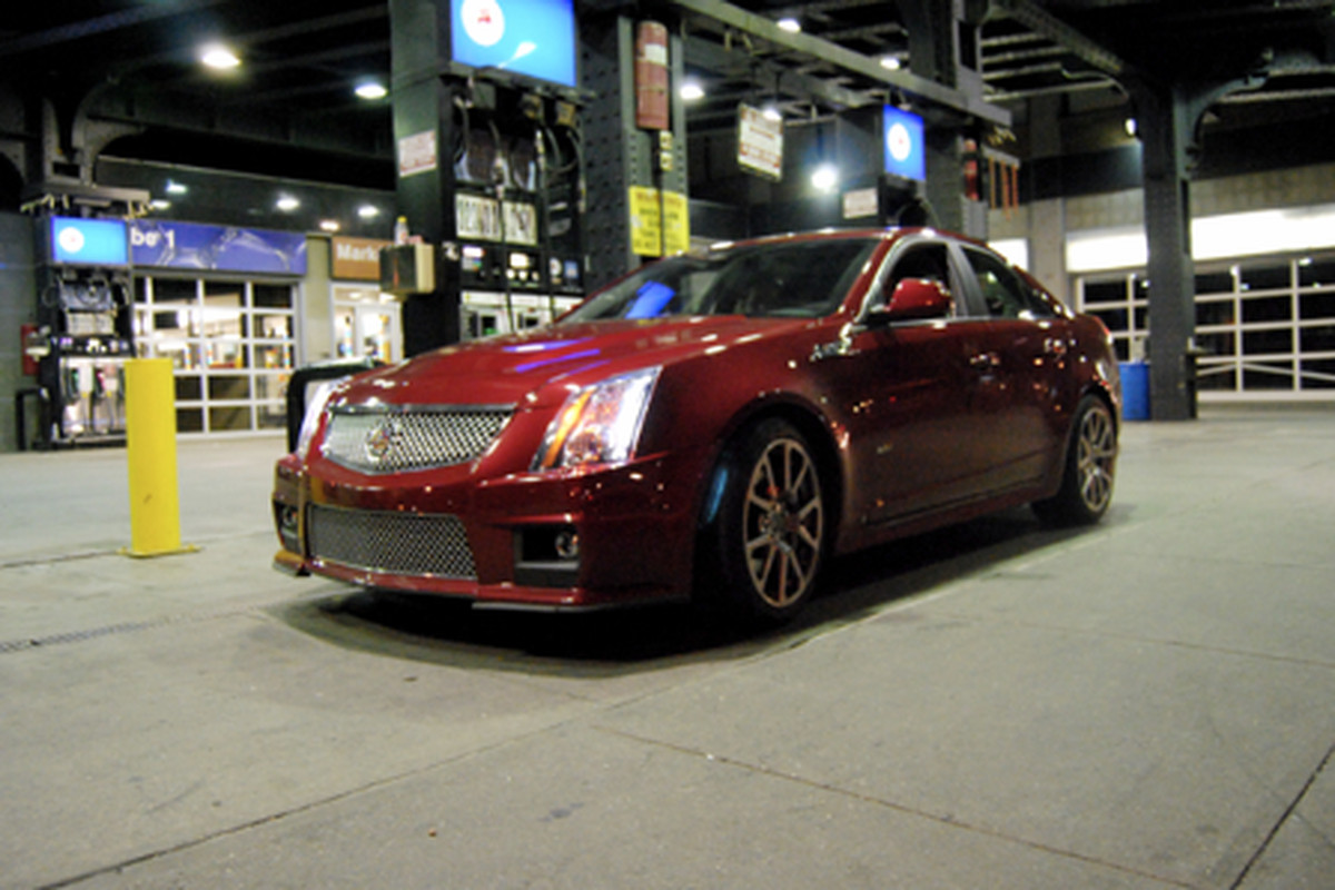 """Image via <a href=""""http://manonthemove.com/2009/06/16/cadillac-cts-v-gansevoort-st-little-west-12th-nyc/"""">Man on the Move</a>"""