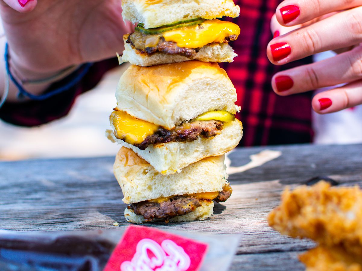 Sliders from Fat City Stacks