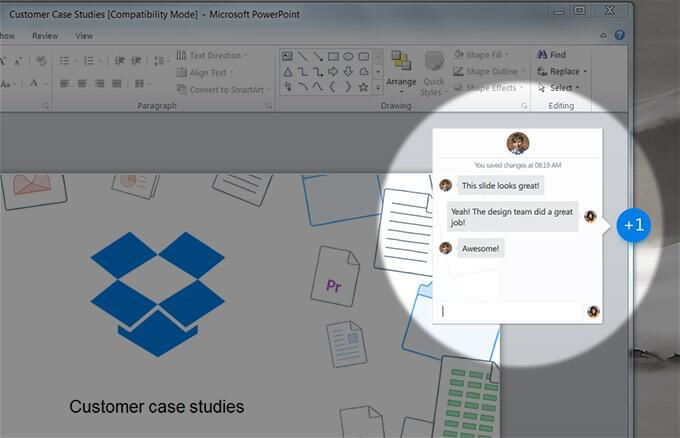 """Dropbox's upcoming """"Project Harmony"""" will overlay it on top of Microsoft Office."""