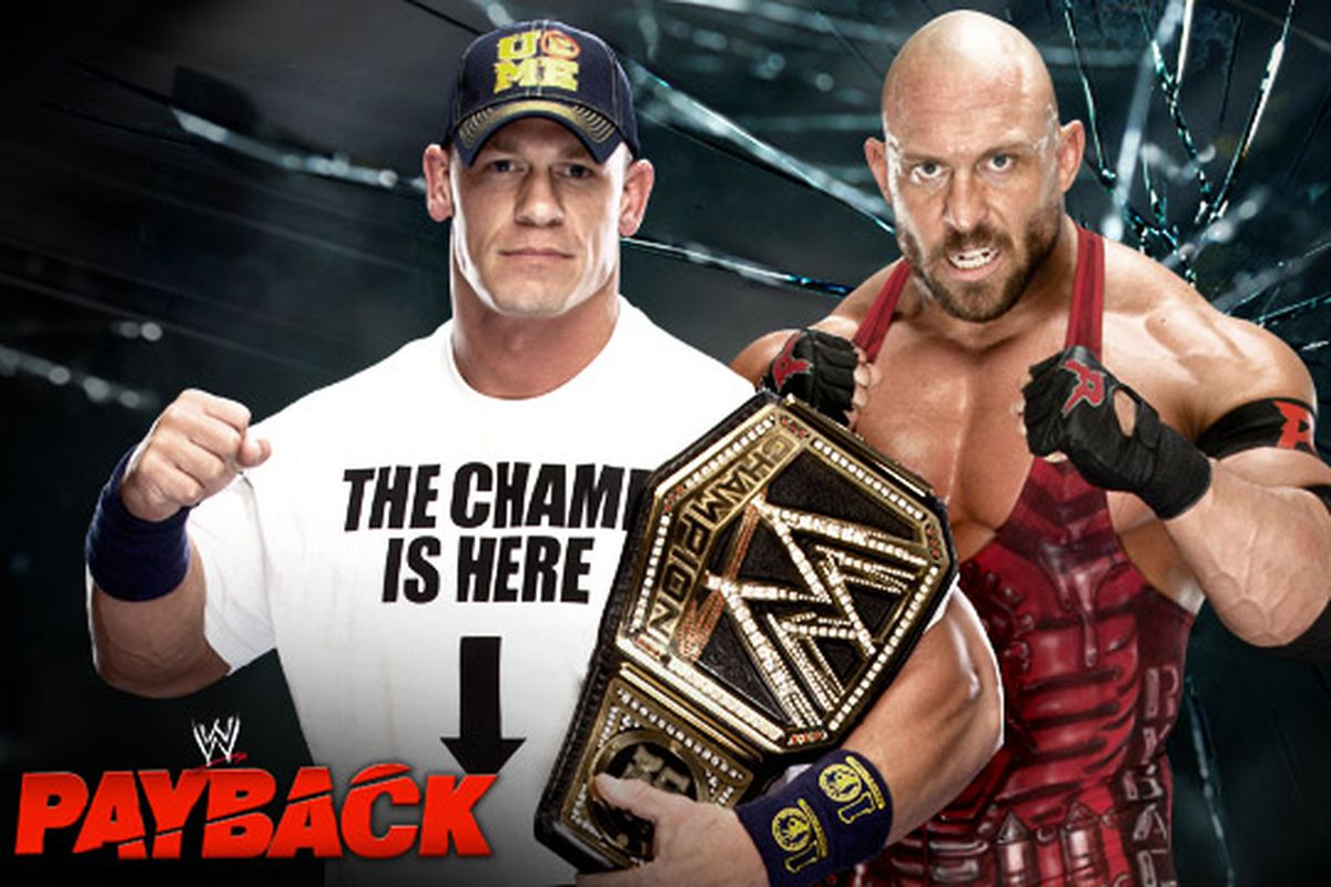 WWE Payback Preview: John Cena vs. Ryback 3 Stages of Hell ...