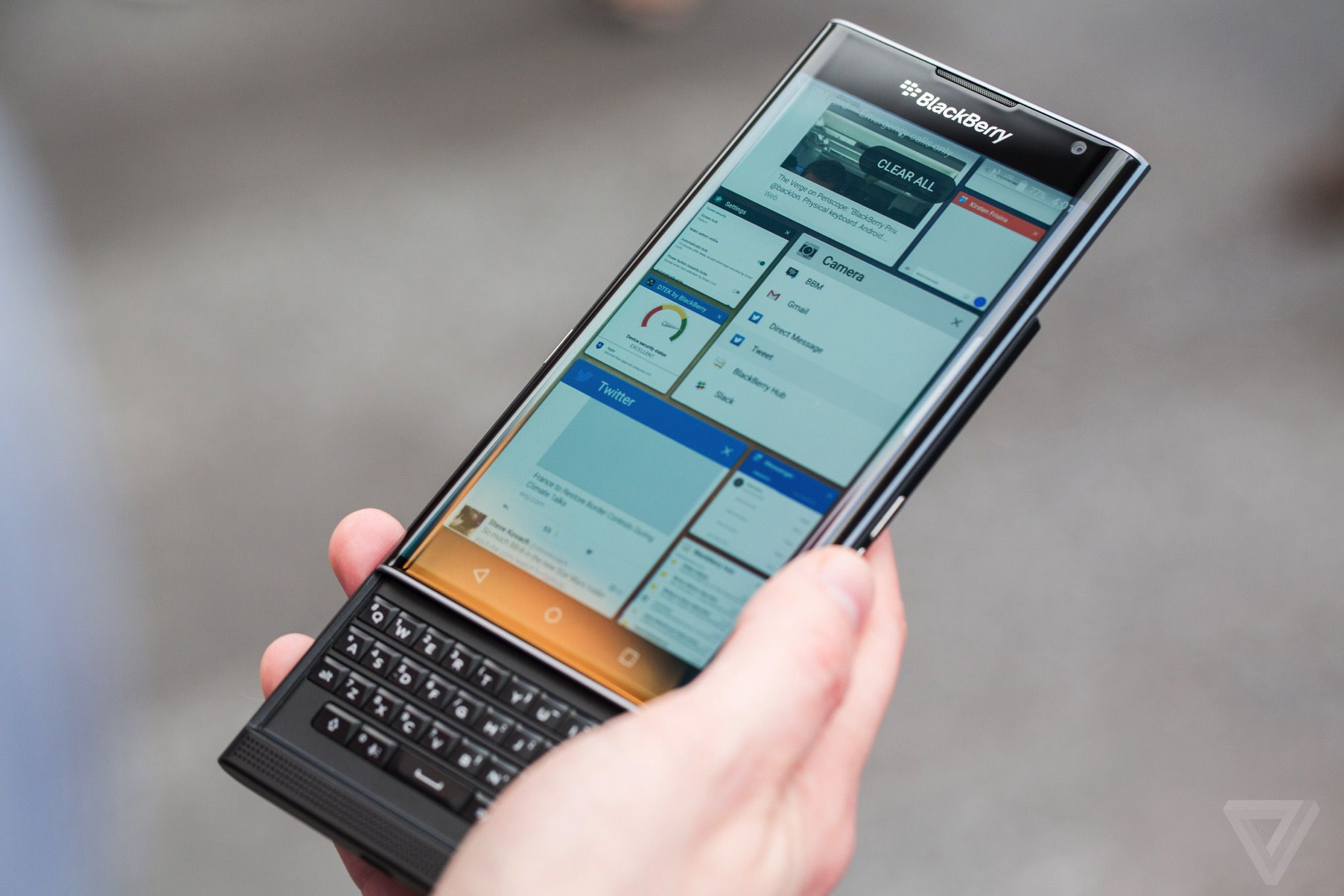 BlackBerry Priv review | The Verge