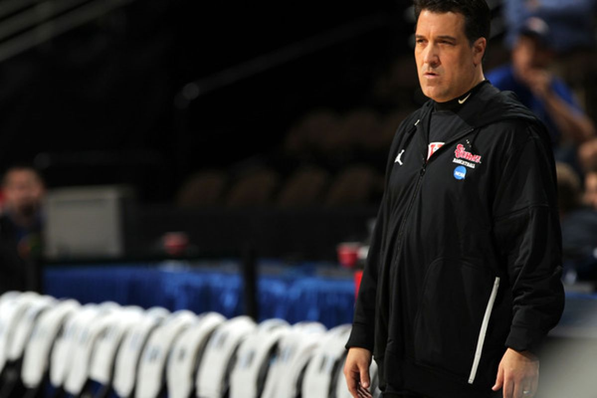 <strong>Steve Lavin</strong> has been balancing health recovery and recruiting efforts since he last coached a game on November 18th.