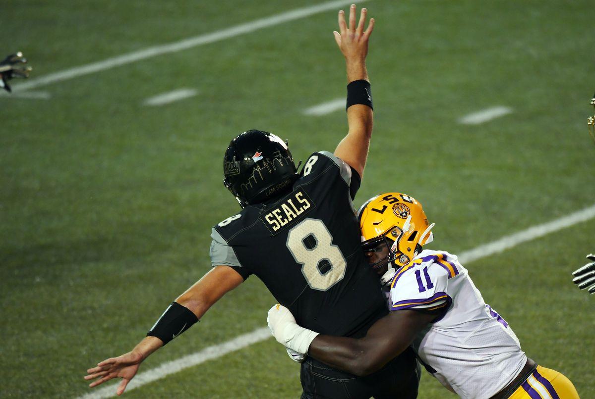 NCAA Football: Louisiana State at Vanderbilt