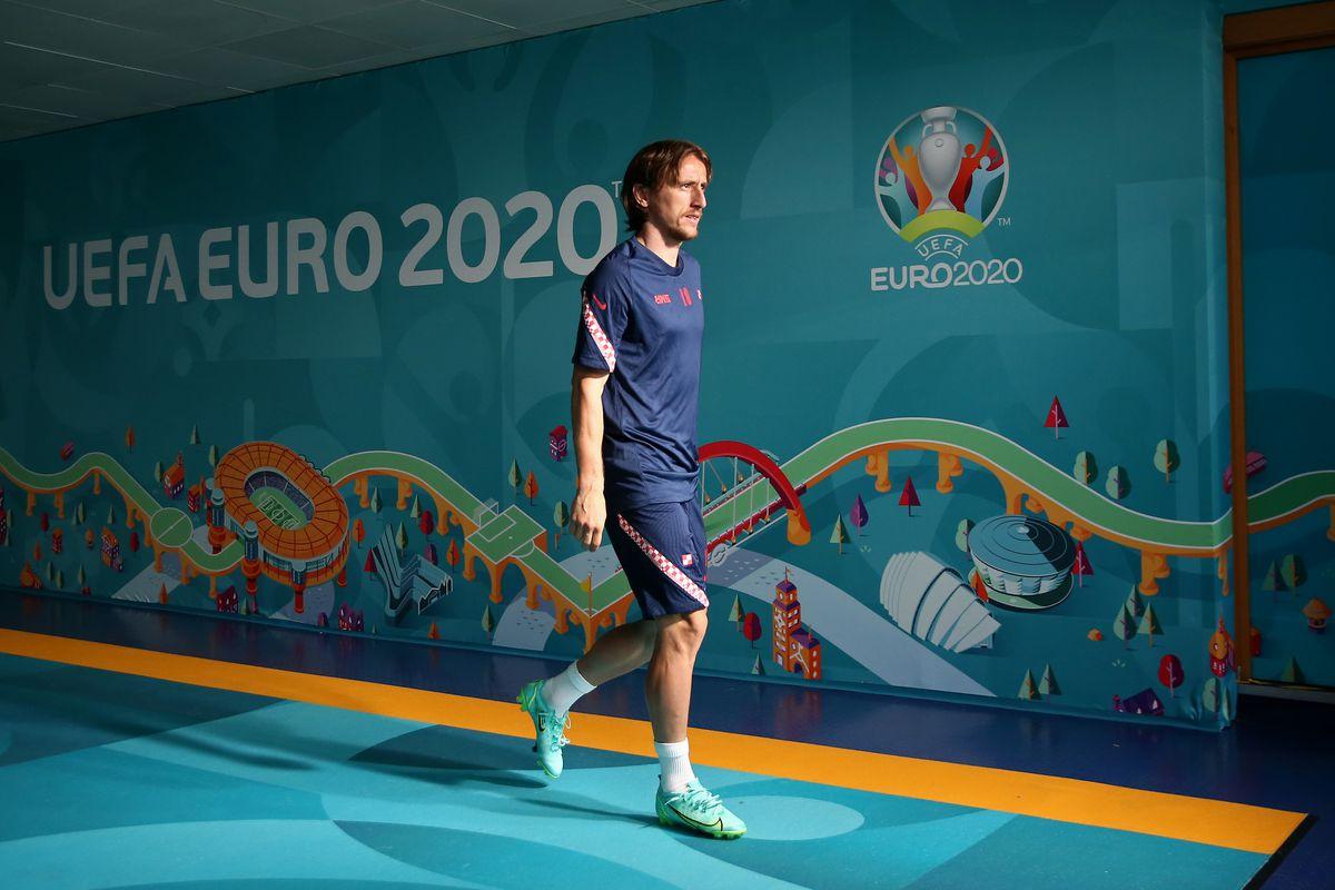 Croatia Training Session and Press Conference - UEFA Euro 2020: Group D