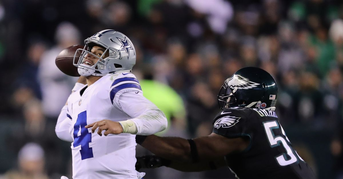 Dak Prescott and Doug Pederson respond to Kamu Grugier-Hill's comments about the Cowboys being chokers