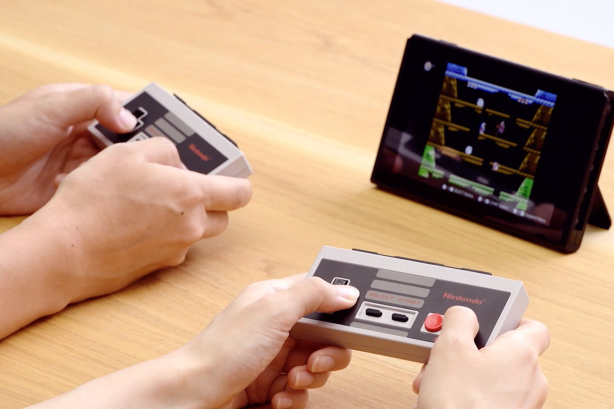 Classic NES controllers come to Switch - Polygon