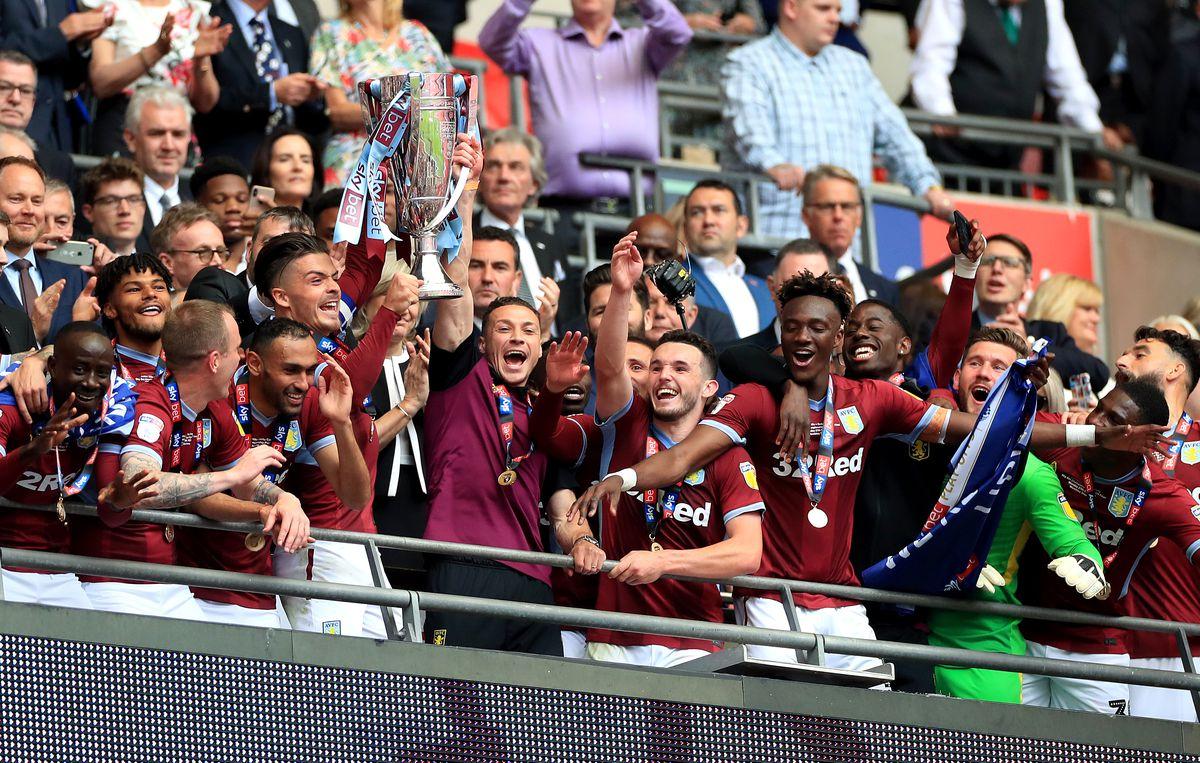Aston Villa v Derby County - Sky Bet Championship Play-off - Final - Wembley Stadium