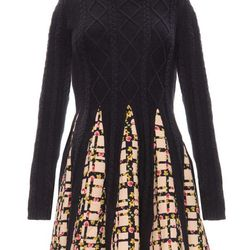 "Pixie Market navy floral flared dress, <a href=""http://www.pixiemarket.com/navy-floral-flared-dress.html"">$79</a>"