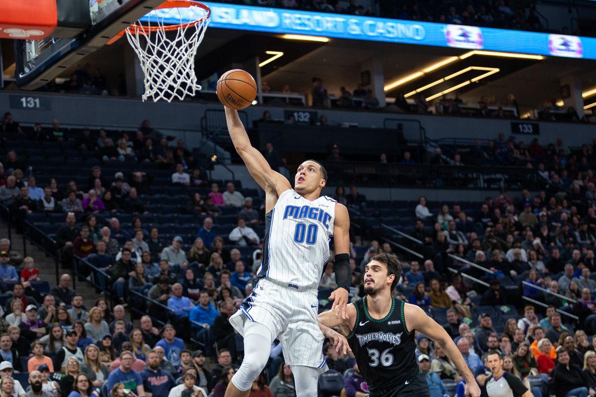 NBA: Orlando Magic at Minnesota Timberwolves
