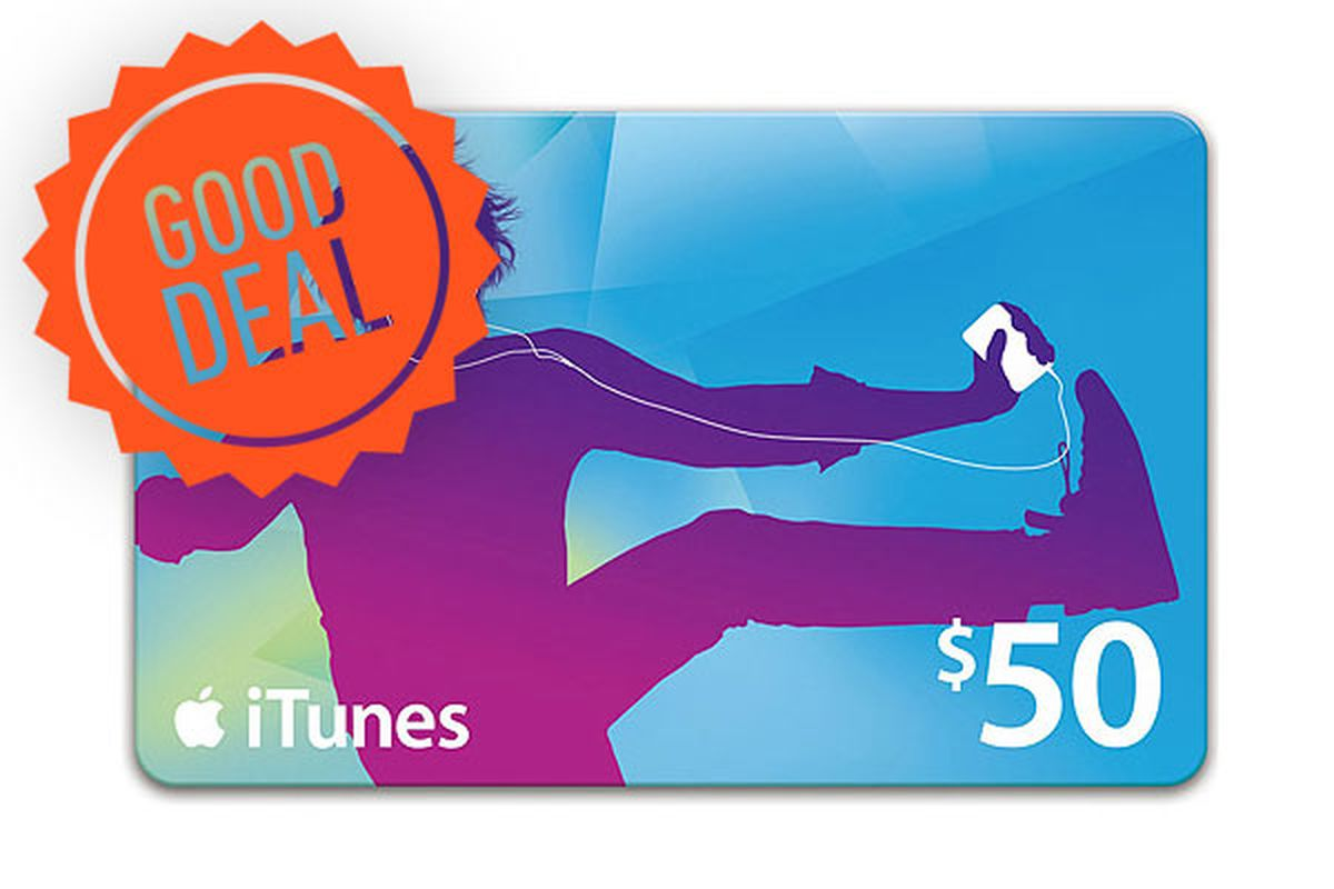 Good Deal: iTunes Store digital gift cards are 20 percent off at ...