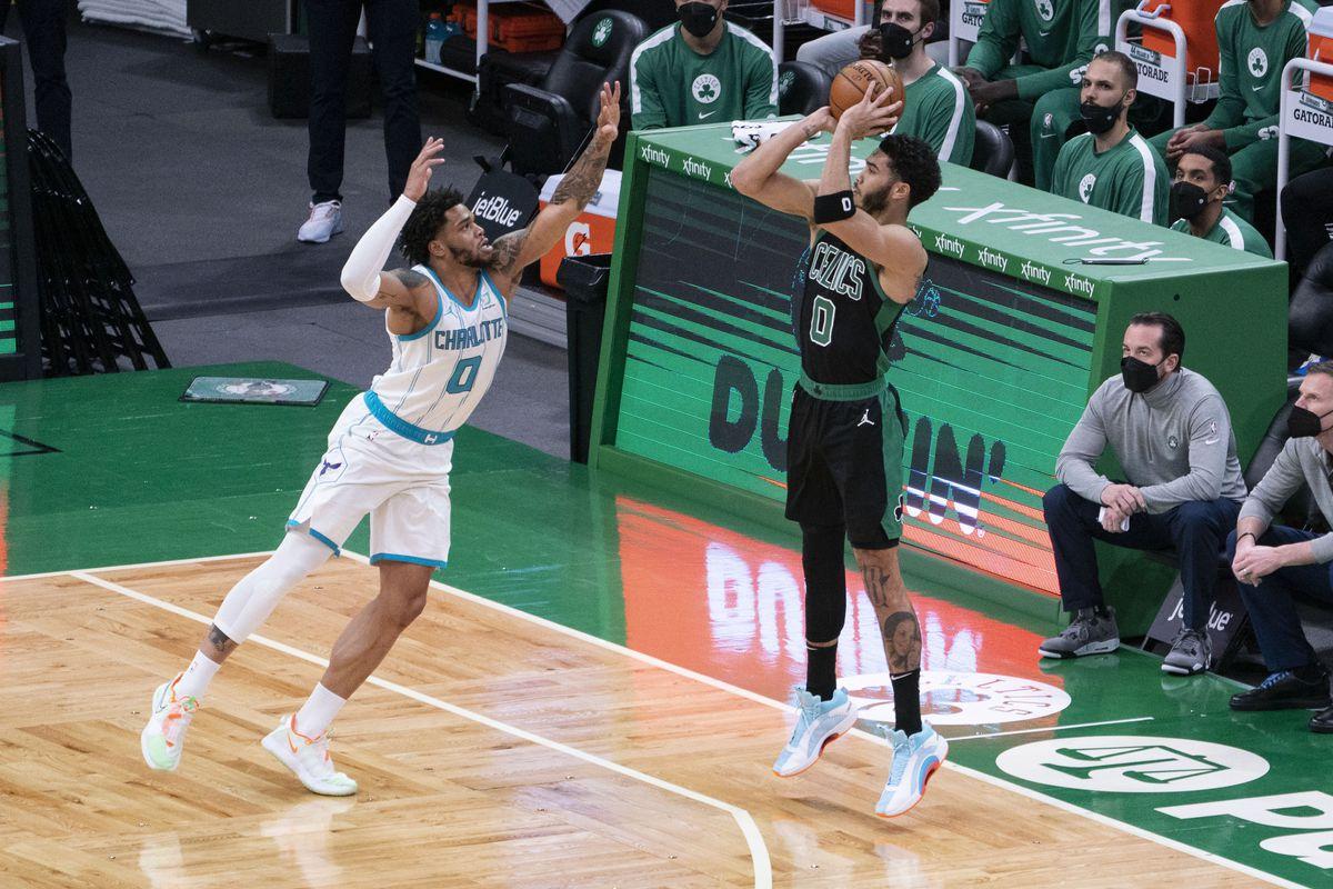 NBA: Charlotte Hornets at Boston Celtics