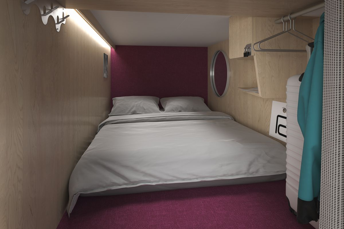 tiny pod hotel is coming to north america 39 s biggest ski area curbed. Black Bedroom Furniture Sets. Home Design Ideas