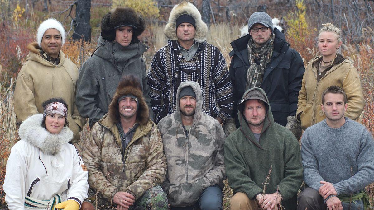 """Los 10 concursantes que desafiaron el Ártico en invierno en """"Alone"""" del History Channel."""