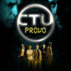 """The poster art for """"CTU: Provo,"""" shot in 2007 as a filmmaking project for a class by Alan Seawright with Jonathan Decker. The film screened at the 16th LDS Film Festival 2017 for its 10th anniversary."""