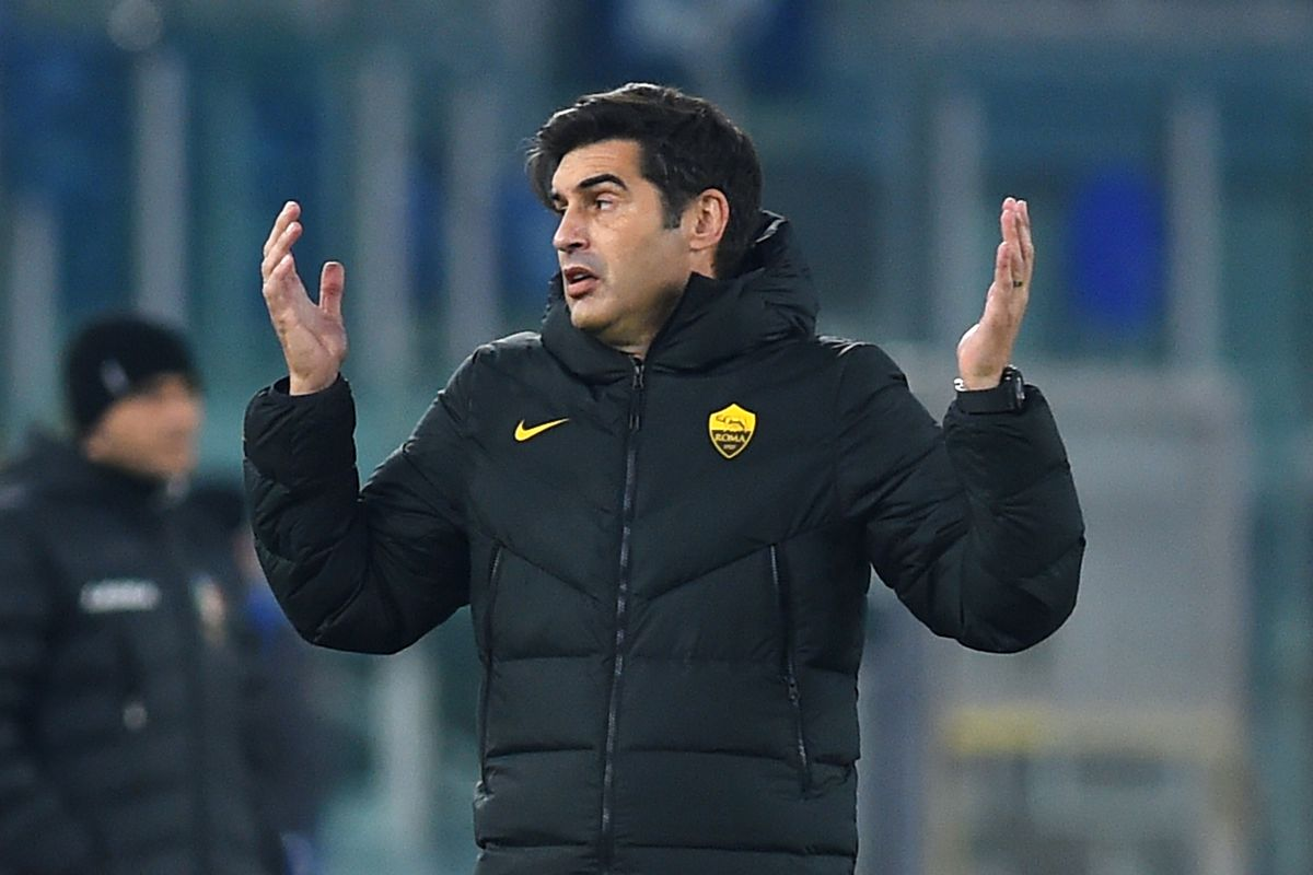 Football Italy cup AS Roma-Spezia Calcio
