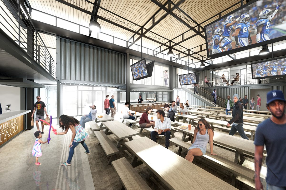 Detroits Shipping Container Food Hall Might Actually Break Ground