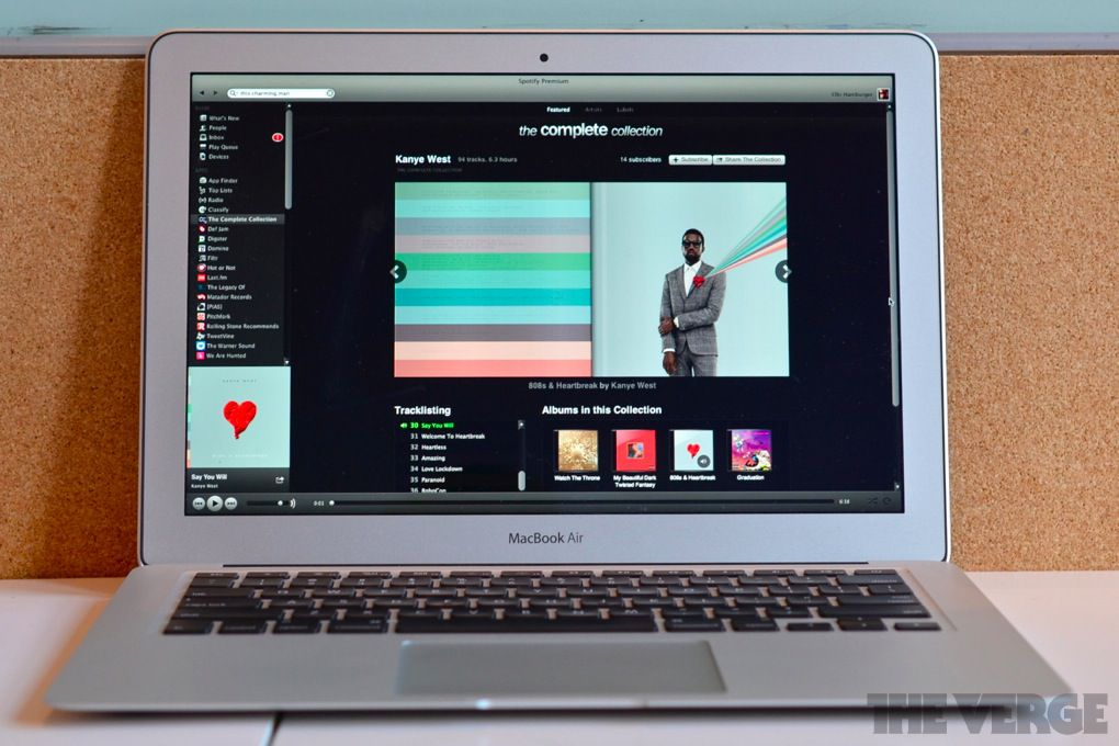 spotify apps on macbook